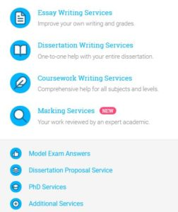 oxbridgeessays services