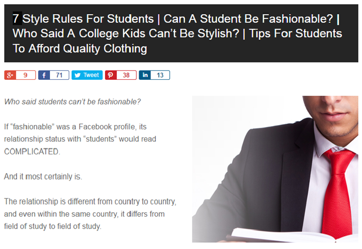 style rules